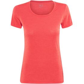 Haglöfs Ridge Hike Kortærmet T-shirt Damer rød